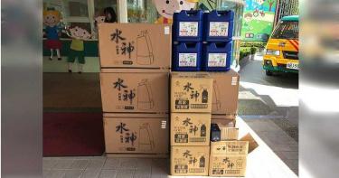 【防疫情報】「水神」抗疫再出擊 捐贈1,700箱助攻屏東
