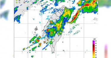 台北市豪雨升級 嘉義「大雷暴雨」17縣市警報