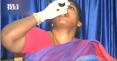 淚訴「沒人幫我討公道」 印度婦女聯盟主席記者會上服毒