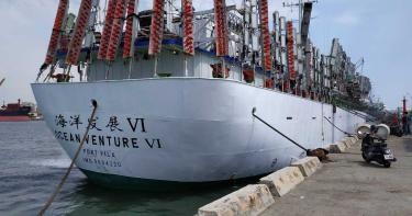 高雄遠洋漁船下周出海捕秋刀魚 今驚傳氨氣外洩2工人慘死