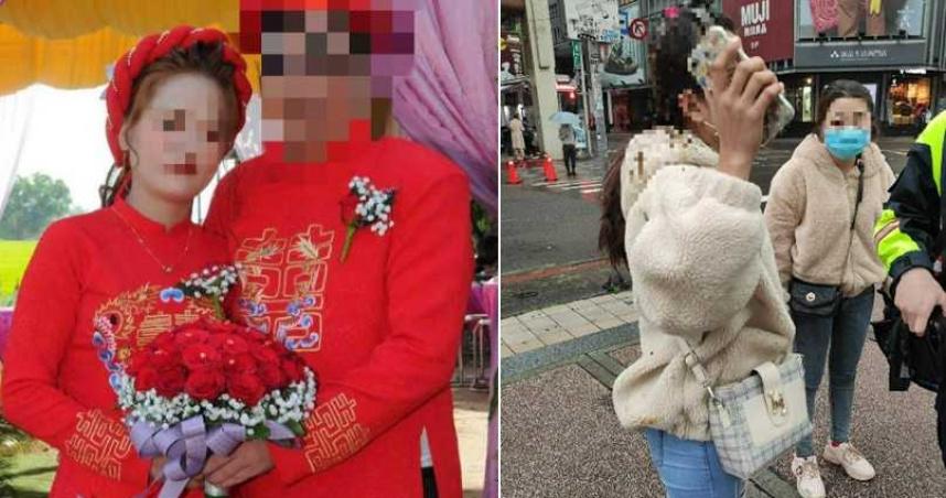 砸百萬娶越南妻!一個月就落跑嗆:你睡過了 尪當街堵人潑她「黃金」