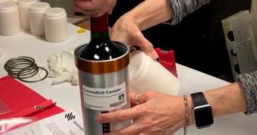太空釀的酒! SpaceX攜帶在ISS釀造葡萄酒返回地球