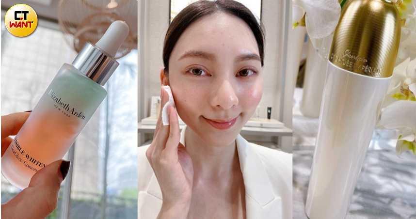 搶先一步美白防黑!專為亞洲黃皮肌膚打造的美白『精露』,讓肌膚一掃暗沉,白亮透一次GET!