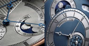 機刻雕花工藝寫實展現月明星爍之美!寶璣藍嶄新經典系列月相腕錶 2020世界巡迴首站台灣報到!