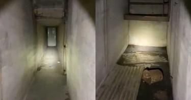 男子入住「87年歷史房」感覺木板怪異 拆下驚見「詭異隧道」