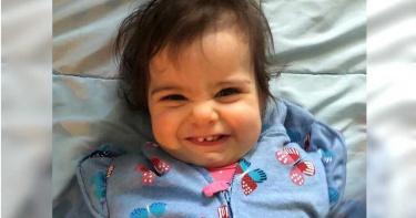 15個月大女嬰遭家中寵物犬撕咬不治 燦爛笑容成追憶