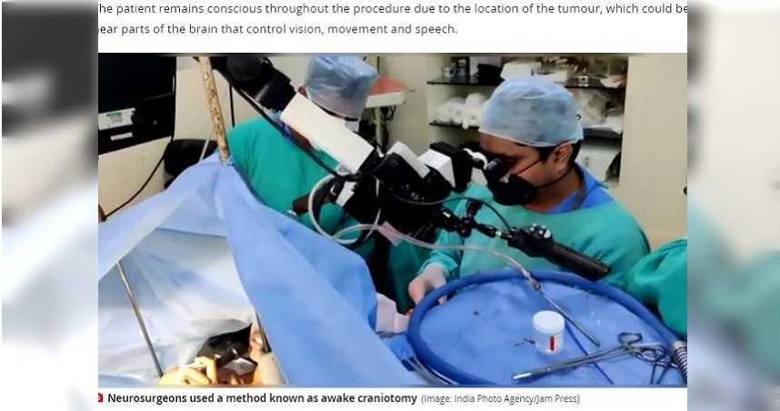 9歲女罹腦瘤…邊手術邊「彈琴、唱歌」達6小時
