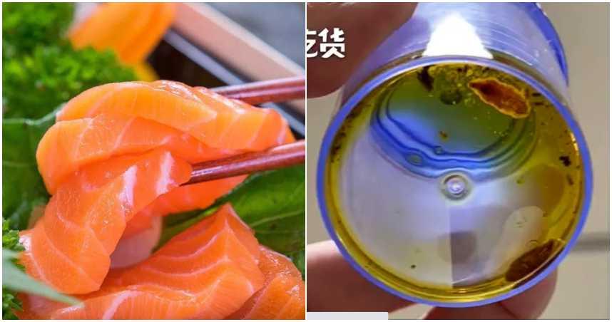 超愛鮭魚生魚片!婦人爽吃爆 4月後腹痛就診…醫驚:滿滿寄生蟲+卵
