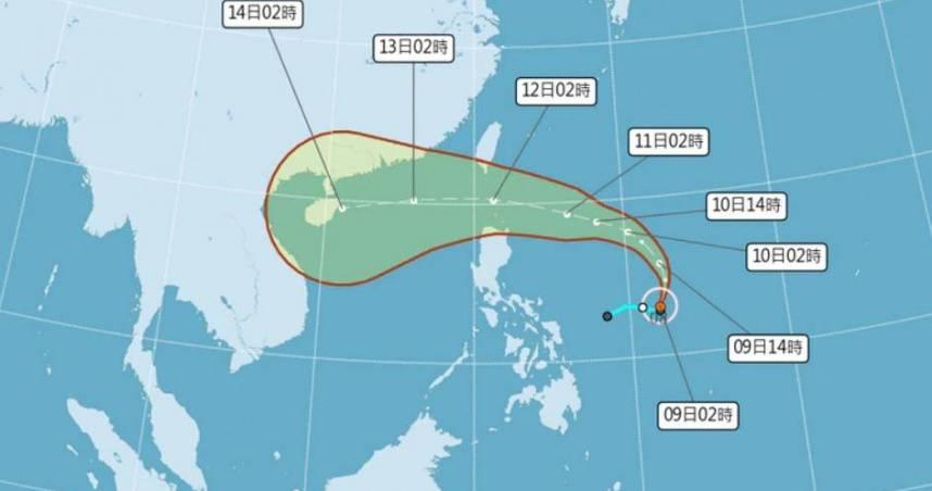 首波雨勢今晚報到…圓規「這2天最接近」防強風豪雨 氣象局20:30發海警