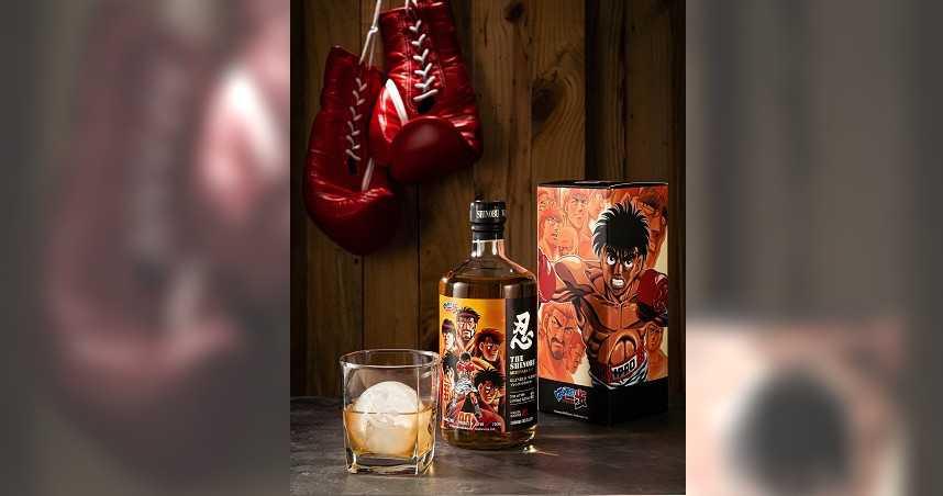 漫畫迷看過來! 「忍SHINOBU」聯名《第一神拳》  推出台灣限定威士忌