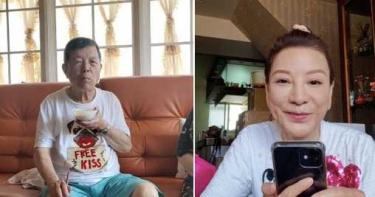 楊繡惠帶88歲父阿西接種疫苗「全家都緊張」 曝返家後3天現狀