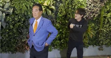How哥建議「穿一件國旗內褲」 宋楚瑜「手放腰際」脫了!