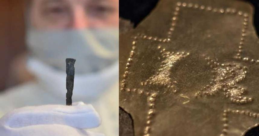 驚人發現!考古學家於捷克修道院尋獲據稱是「釘死耶穌」的釘子