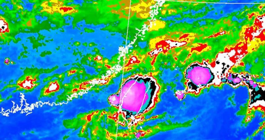 颱風最快今生成 「大坨粉紅色雲團」豪雨製造機!北部變天時間點曝光