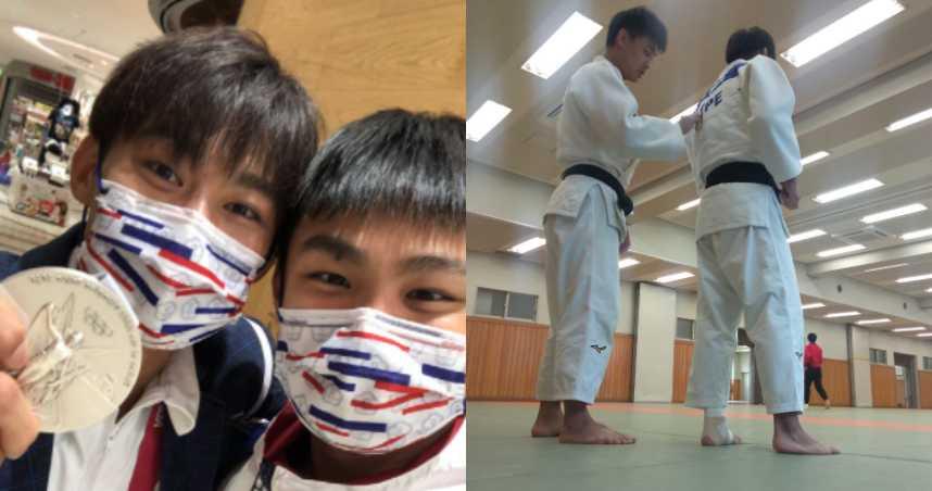 楊勇緯和蔡明諺曾是爭取奧運代表資格的對手。(圖/翻攝自楊勇緯 Yang Yung Wei臉書,下同)
