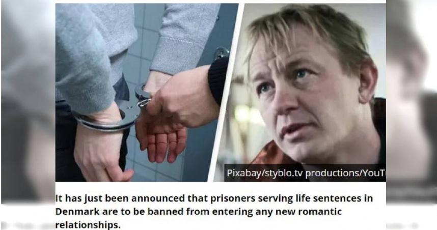 阻斷犯罪「追星族」現象 丹麥禁止犯人談戀愛