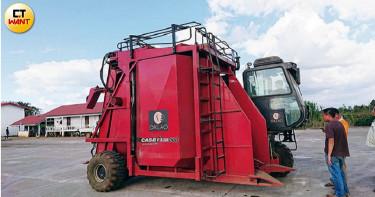 【黑金狩獵師2】亞洲唯一咖啡自動採收機 1台可抵50人