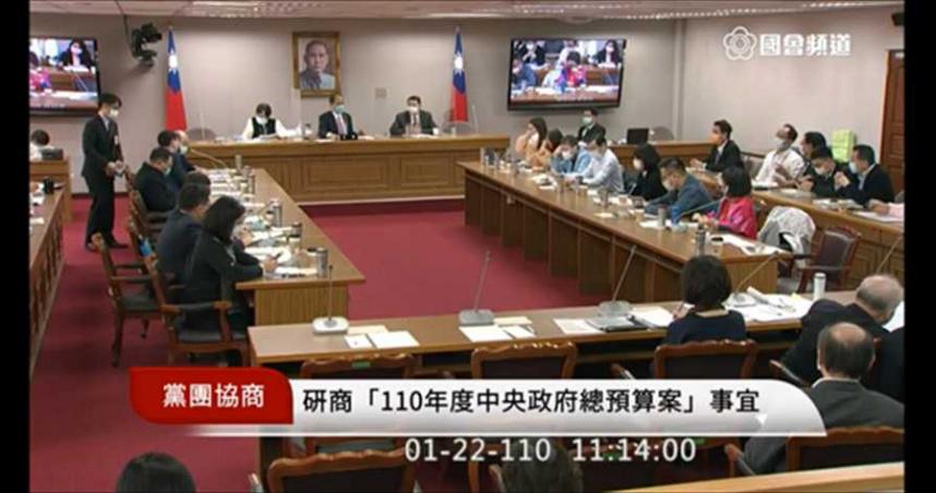 國民黨提凍結蕭美琴預算 民進黨怒:用假消息當理由