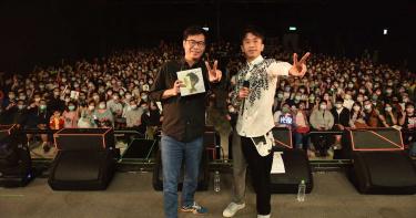 光良高雄演唱會邀來超大咖嘉賓 市長陳其邁化身小粉絲上台合唱