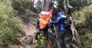 百岳「十峻」品田山傳山難! 57歲男登山客墜深谷無生命跡象