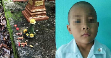 褻瀆神像遭天譴?6歲男童離奇失蹤…「毀容半腐」陳屍樹叢