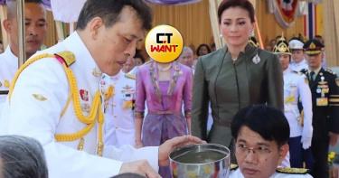 想覬覦正宮大位?泰國又有最新宮鬥畫面 貴妃「斜眼瞪」王后…殺氣100分