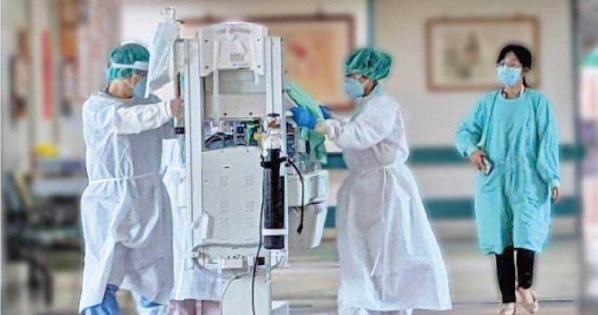 確診孕婦突呼吸窘破 緊急剖腹產女嬰二採陰