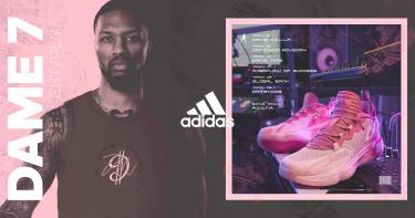 NBA季後賽熱播,快穿上拓荒者Damian Lillard的adidas最新簽名系列戰靴與戰服