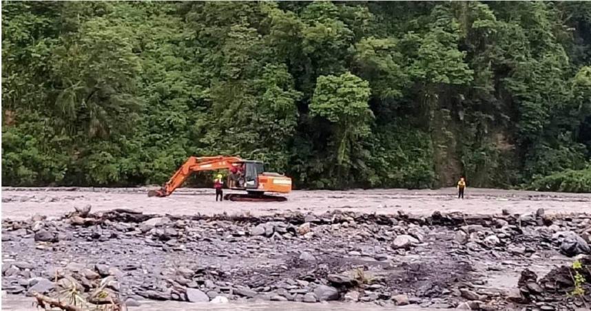 圓規外圍環流帶來驚人雨量 宜蘭石門溪13遊客受困