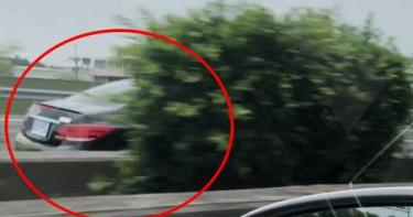 「神風特攻隊?」賓士車國道逆向狂飆4km 下場是…