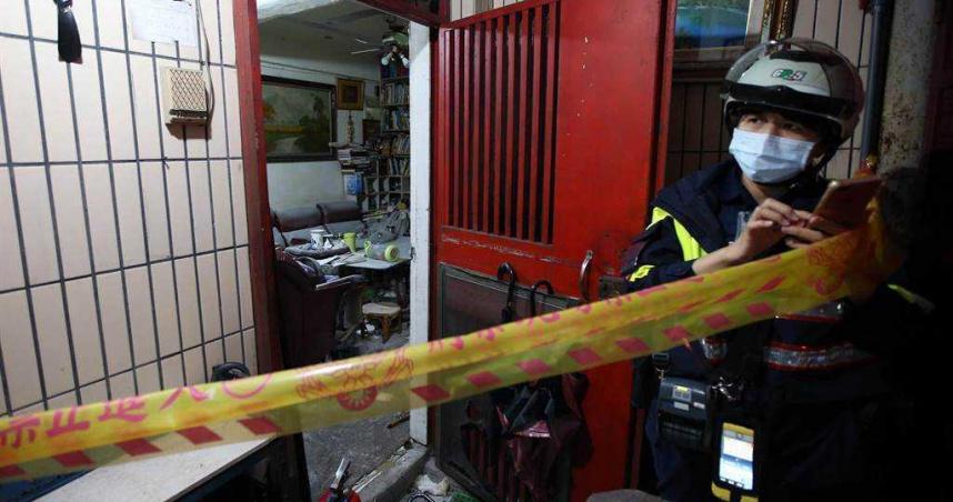 北市南機場公寓今晨發生氣爆 疑瓦斯漏氣2男1女受傷