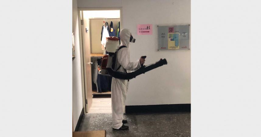 板橋分局又染疫 家防官「快篩陰」PCR成陽性9同事隔離中