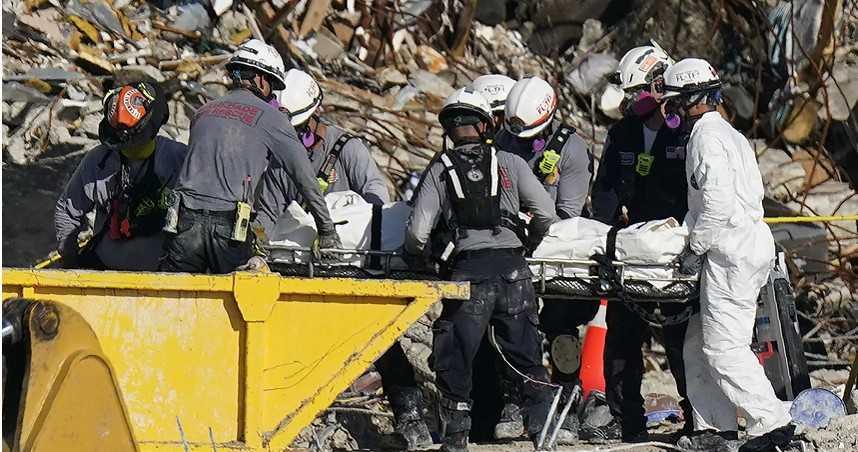 憂倒塌大樓禁不起颶風吹「2度崩塌」 邁阿密暫停搜救工作先拆樓