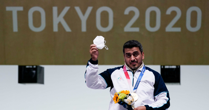 夜班護士成奧運驚奇 41歲伊朗選手奪金牌還射破紀錄