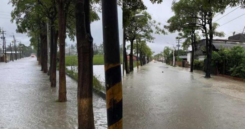18縣市豪大雨特報 今下半天至周一最劇烈!專家:像水管灌入南台灣