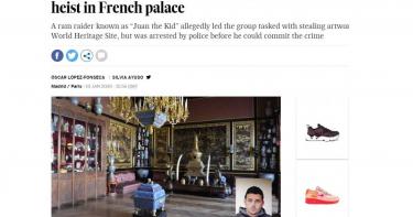 大陸黑幫指使?西班牙大盜 欲竊楓丹白露宮內中國寶物