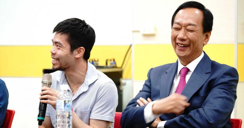 郭台銘喊話政府:提高奧運獎金「金牌發1億」 破紀錄再加1億