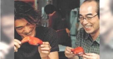 合體金城武台灣拍廣告 志村健大啖釋迦、胡椒餅