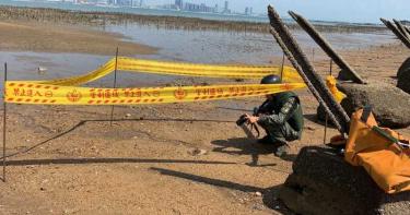 能將足球場夷為平地 金門海灘驚見2地雷