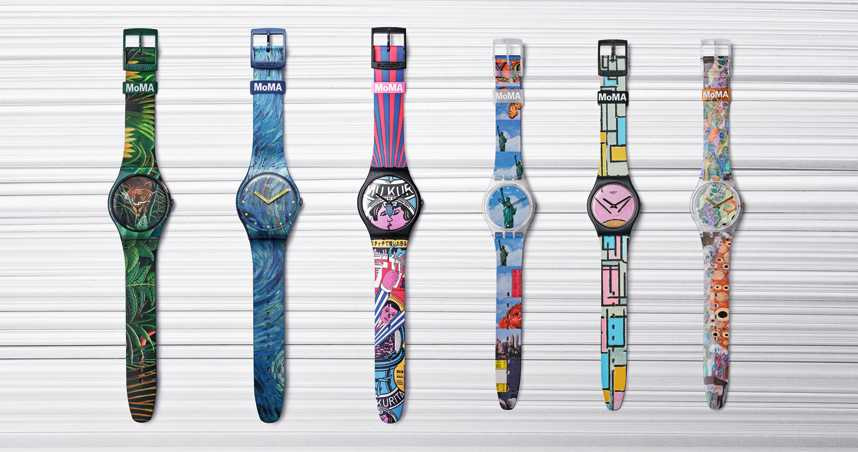 swatch x MoMA雙強重磅聯名!經典名家畫作躍上腕錶畫布 放飛感官開展一場藝博行旅