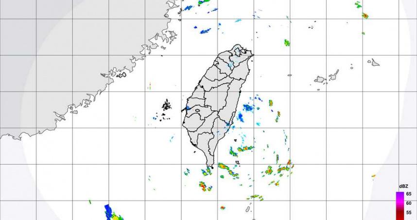 小熊颱風今生成 間接影響台灣迎風面日夜都有降雨機率