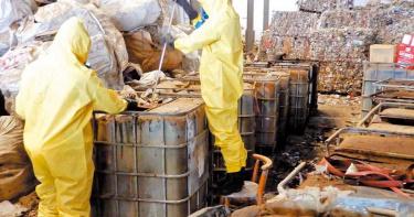 嘉縣環保查緝平台一年揪出20案 清理1378噸廢棄物