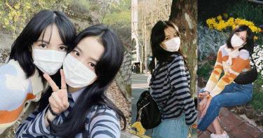 BLACKPINK Lisa&Jisoo好姐妹久違出遊狂曬自拍照!粉絲大讚兩人是戴口罩也擋不住的盛世美顏