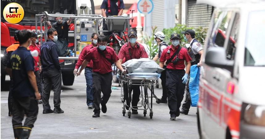 高雄城中城凌晨惡火釀46死 41人受傷送醫