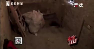 老宅裝修驚見「黑色肉乾」 工人嚇傻:一顆人頭掉出來!