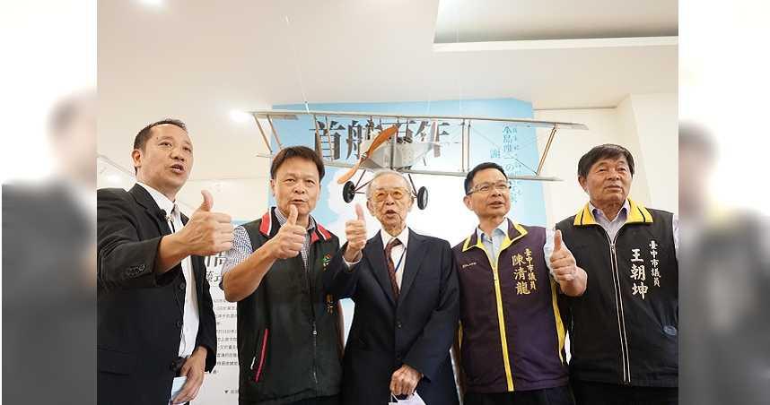 豐原之光謝文達首航百周年 2公尺複刻機向台灣飛行英雄致敬